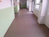 Rekonstrukce podlahy - ZŠ Laudova